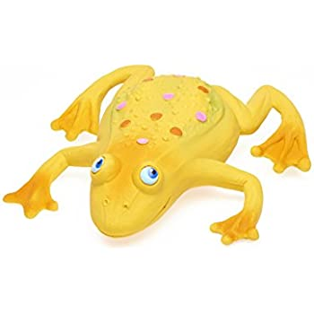 Amazon.com : Large Squeaky Frog Dog Toys. 100% Natural