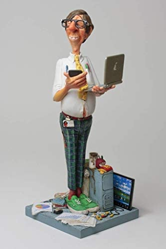 US The Computer Expert by Guillermo Forchino 8.7 inches Tall