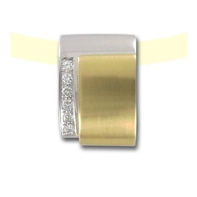 0,30Ct brillantes pour femme en or jaune 585
