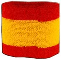 Digni Set de 2 muñequeras, diseño de la Bandera de España: Amazon ...