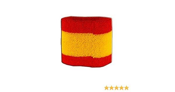 Digni – Muñequera con Bandera de España Cinta para el Sudor: Amazon.es: Deportes y aire libre