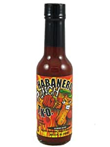 Habanero Punch T.K.O. Hot Sauce (Pack of 3)