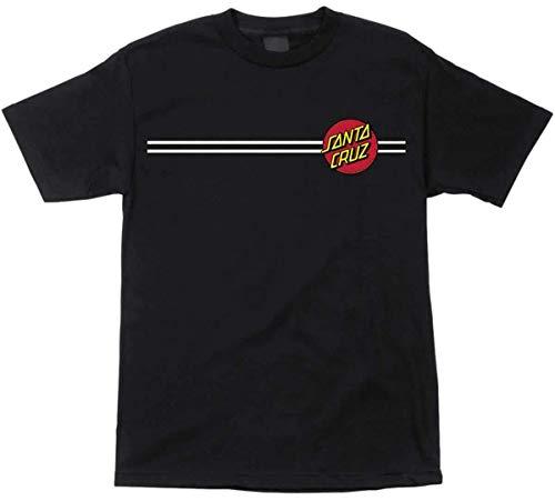 (Santa Cruz Mens Classic Dot Regular Short-Sleeve Shirt X-Large Black )