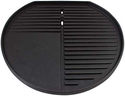 SUNTEC Grill sur pied electrique BBQ-9479 [bonnet détachable avec indication de la température, tableau intégré, plaque à griller 46x35 cm, pied avec des roues, max. 2400 W]