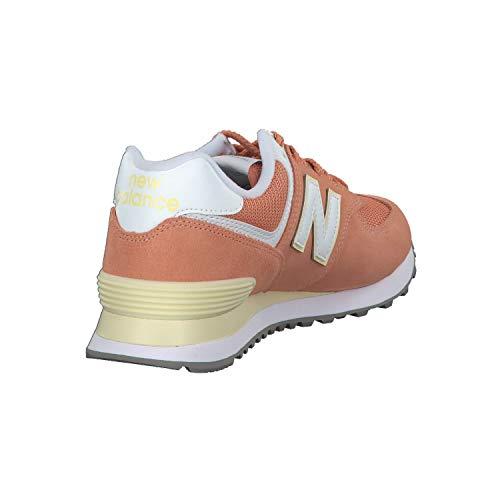 New Balance Scarpa Arancione Wl574 Balance Wl574 Scarpa New qIfCUw5