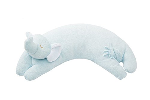 Angel Dear Elephant Pillow, Blue ()