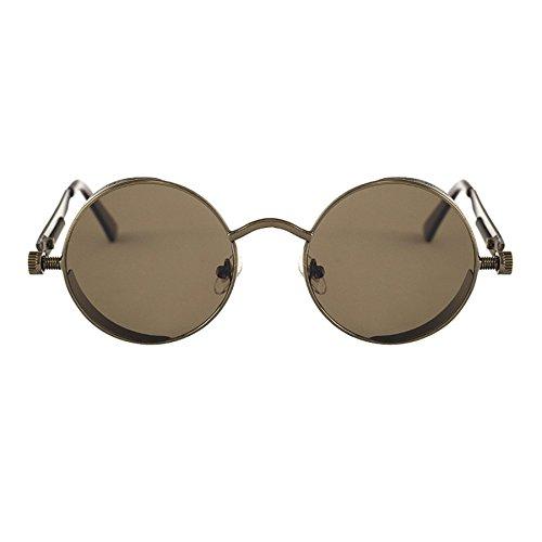 647c48f297421 Miroir Femme Lunettes Rétro Et Anti Homme Vintage J Métal Ronde Lilicat❥lunettes  lunettes Soleil Unisexe ...
