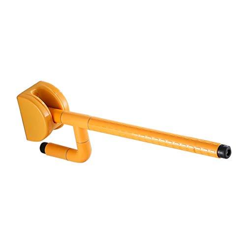 (JFFFFWI Armrest Nylon Handrail The Elderly Bathroom Bathtub Wash Basin Safe Handrail Accessible Handrails Home Longest 600mm (Color : Yellow))