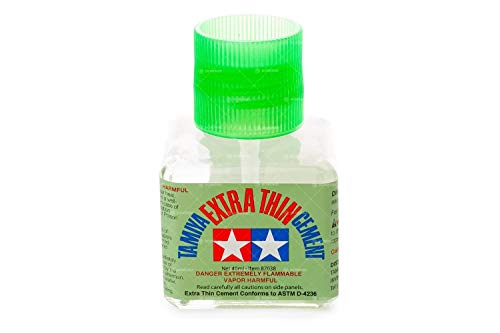 - Tamiya 87038 Extra Thin Cement Glue Fine Tip 40ml