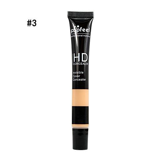 Shouhengda Waterproof Face Cover Concealer Pen Foundation Cream Long Lasting Cosmetic A03