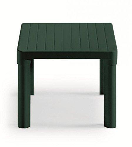 Tavolino Basso Da Giardino.Ideapiu Tavolino Da Giardino Basso Per Esterno Colore Verde Bosco 47x47x38h