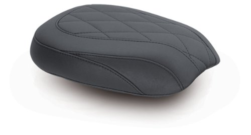 Price comparison product image Mustang Wide Tripper Diamond Stitch Rear Seat for Harley Davidson 2011-13 FXS,  - One Size
