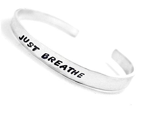 just-breathe-hand-stamped-bracelet-adjustable-aluminum-cuff-a-foxwise-original