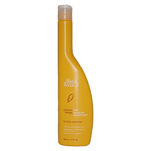 Coconut Moisture Rich Basics (Back to Basics Coconut Mango Rich Moisture Conditioner 11 oz)