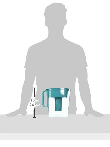 Brita Small 5 Cup Metro Water Pitcher with Filter - BPA Free - Turquoise by Brita (Image #11)