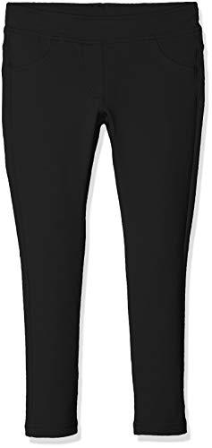 United Colors of Benetton Trousers, Pantalones para Niñas Negro (Black 100)