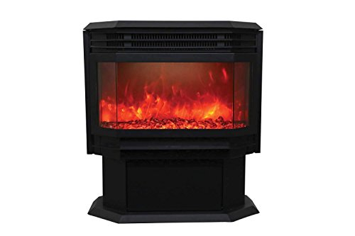Cheap Sierra Flame Freestanding Electric Fireplace (FS-26-922) Black Friday & Cyber Monday 2019