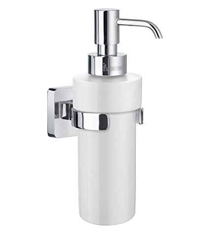 ap Dispenser Wall mount, Polished Chrome (Smedbo Wall Mount Soap Dispenser)