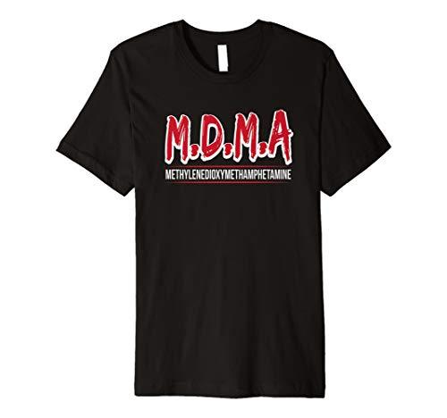 Funny MDMA T-Shirt Ecstasy Molly Love