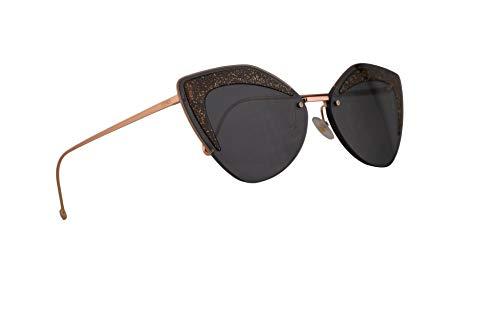 Fendi FF0355/S Sunglasses Grey w/Grey Blue Lens 66mm KB7IR FF0355S FF 0355/S