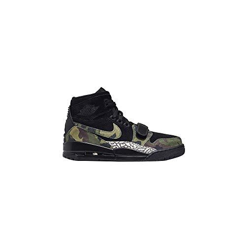 Nike AIR Jordan Legacy 312 Mens Fashion-Sneakers AV3922 (12, Black/Camo Green/Black) (Air Force Jordans Shoes)