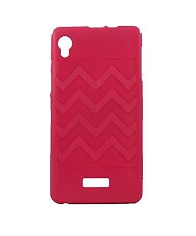info for e048d 5e19b Exclusive Rubberised Back Case Cover For Intex Aqua Power HD - Pink ...