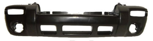 OE Replacement Jeep Liberty Front Bumper Cover (Partslink Number CH1000334) -
