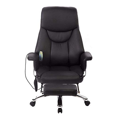 BestMassage Executive Office Massage Chair Vibrating Ergonomic Computer Desk Chair