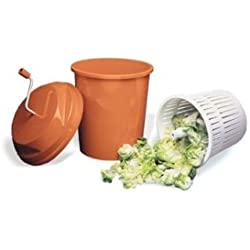 Paderno World Cuisine 5-1/4-Gallon Manual Salad Dryer