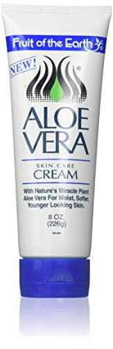 - Fruit of the Earth Aloe Vera Cream Tube, 8 Ounce