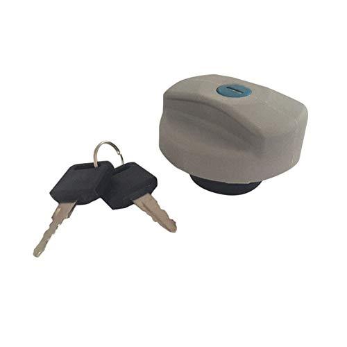 2 Keys for Vauxhall Zafira Petrol Diesel 1998-2016 GOZAR Black Fuel Tank Cap Locking