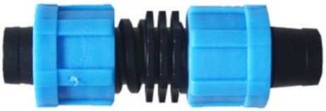 17mm and 5//8 inch Netafim Streamline 5//8 Irritec Rivulis T-Tape Drip Tape Tee Fitting BluSoak 5 Pack Works Great with and is Compatible with Irretec P1 Ultra Chapin Aqua-Traxx
