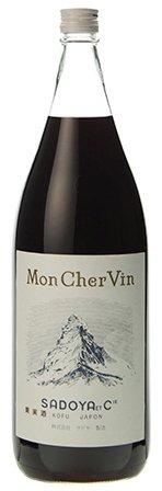 ワイン サドヤ モンシェルヴァン 赤 1.8L 瓶 × 6本 (1800ml) (国産) (一升瓶ワイン モンシェルバン) B07F1Q6LFV