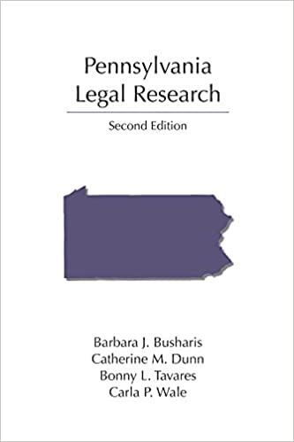 Pennsylvania Legal Research