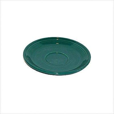 - Fiesta 6-3/4-Inch Jumbo Saucer, Evergreen
