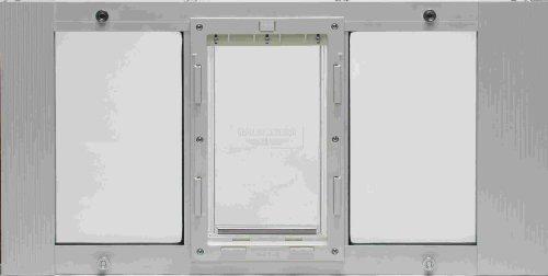23''- 28'' Window Sash Pet Door 7''x 11'' Flap