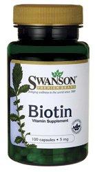 Биотин 5 мг 100 капсул
