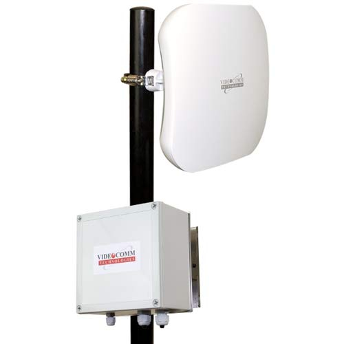 Videocomm Technologies | EV-58150AHD | 5.8GHZ Digital Wireless AHD 1080P Corner Elevator