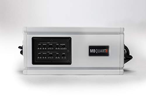 MB Quart Nautic Amplifier NA3-560 4 - Nautic Marine, 560 Watts, 4 Channel,  Marine Amplifier, Speaker, Heat Sink, Ipx Standard, Marine Grade