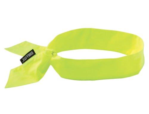 Ergodyne CHILL-ITS COOLING NECK BANDANA/HEADBAND - HI-VIS LIME - 12 PIECE (Cooldanna Cooling Headband)