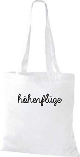 ShirtInStyle Bolsa de tela Bolsa de algodón PENSIÓN Loading - fucsia, 38 cm x 42 cm Blanco