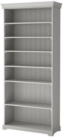 Ikea LIATORP – librería, Color Gris – 96 x 214 cm: Amazon.es ...