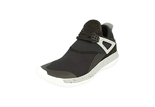 - Nike Air Jordan Fly 89 Mens Trainers 940267 Sneakers Shoes (UK 7.5 US 8.5 EU 42, Black University red Wolf Grey 004)