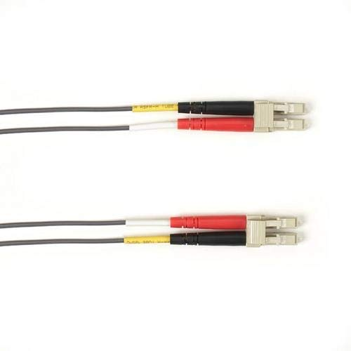 Black Box FOCMRM4-002M-LCLC-GR, Fiber Patch Cable, Pack of 3 pcs