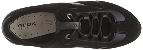 Low Schwarz Women's Top C9999black Freccia Trainer Geox A D Black HIZWqW81