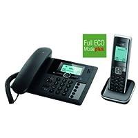 Telekom PA205 Sinus Plus 1 Schnurlostelefon mit Anrufbeantworter schwarz