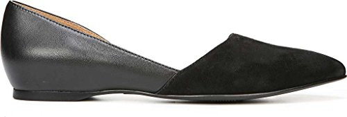 Naturalizer Women's Samantha D'Orsay Shoe,Black Leather,US 10 W by Naturalizer (Image #1)