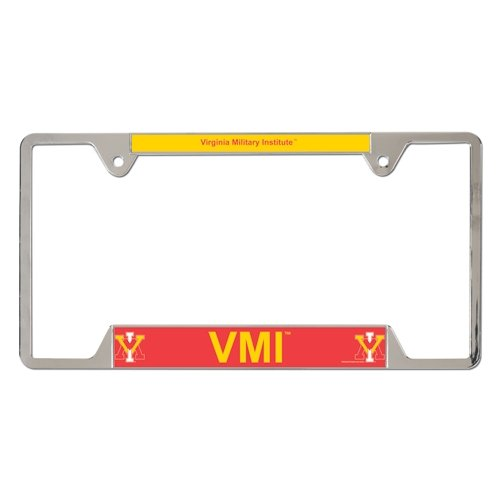 NCAA Virginia Military Institute Metal License Plate Frame by WinCraft