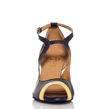 Gold Oro Carrete No Zapatos de Tacón Latino Salsa Personalizables baile xzzpwq7