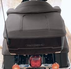 (Mustang 77601 Tour-Pak® Trunk Lid Cover For Harley-Davidson Touring)